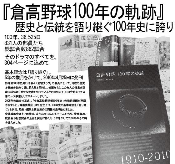 倉高野球 100年の軌跡2